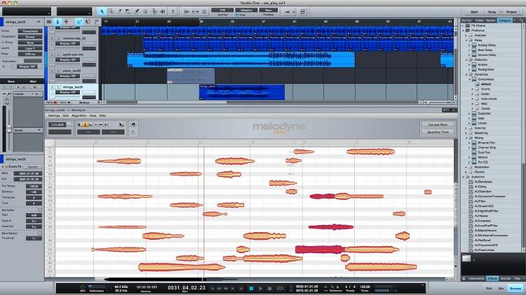 Studio One-Melodyne