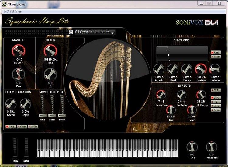 Sonivox-Symphonic Harp Lite