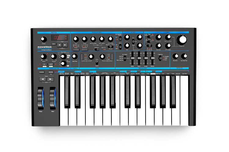 Novation-Bass-Station-II-Top