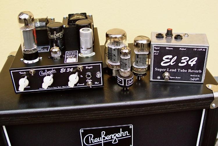 Reussenzehn-EL 34 Mk3 Serie G Ensemble