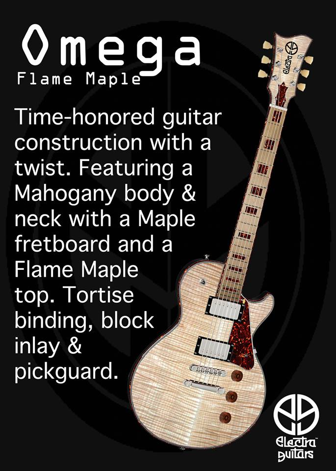 Electra-Omega Flame Maple