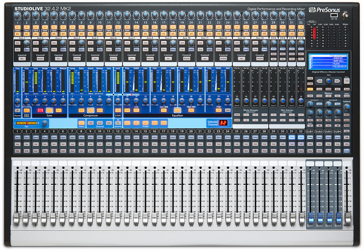 Presonus 32 Channel Digital Mixer Presonus kündigt neue AI-Serie Digital Mixer mit Active ...