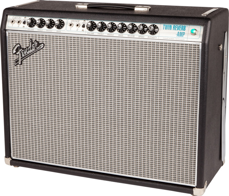 Fender 68 Custom Twin Reverb Amp