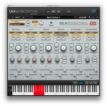 UVI-WS BeatControl copy