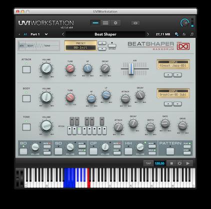 UVI-WS BeatShaper copy