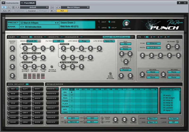 Rob Papen-Punch