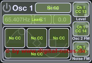 Stroke Machine MIDI Learn Detail Subdued Color Scheme