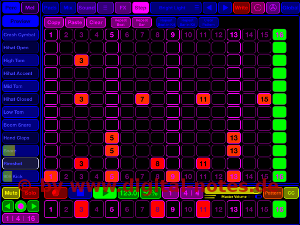 Stroke Machine Step View Normal Color Scheme