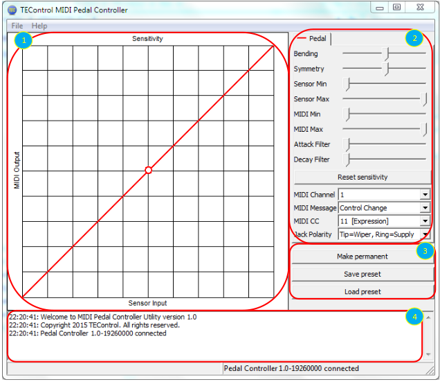tec-pedal-controller-software