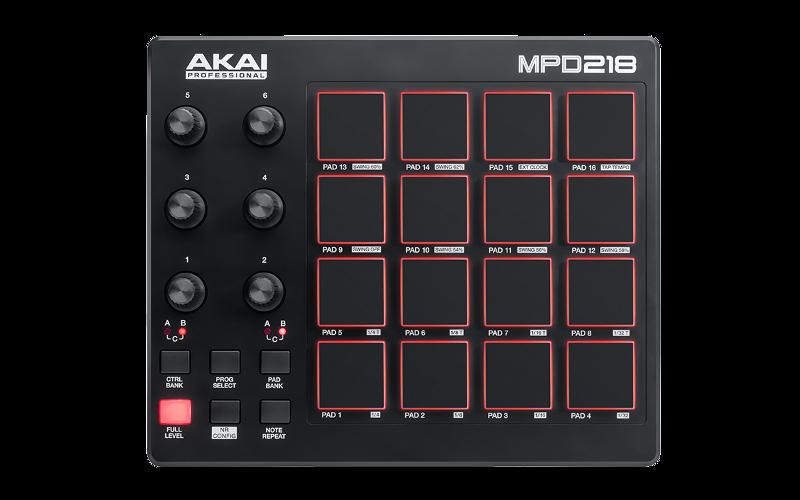 akai-MPD218