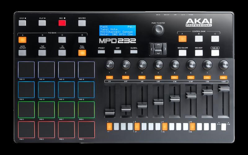 akai-MPD232