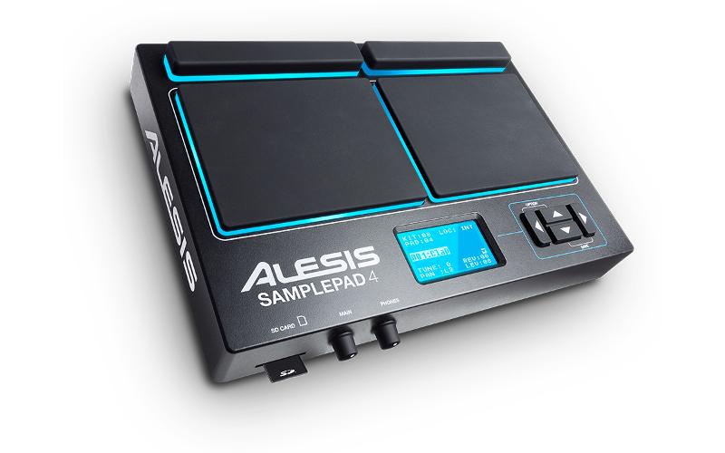Alesis-SamplePad4_Angle_web
