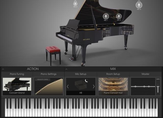 Arturia-Piano-Interface