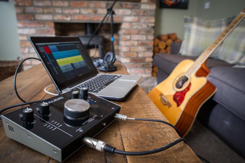 M-Audio-2x2-Interface