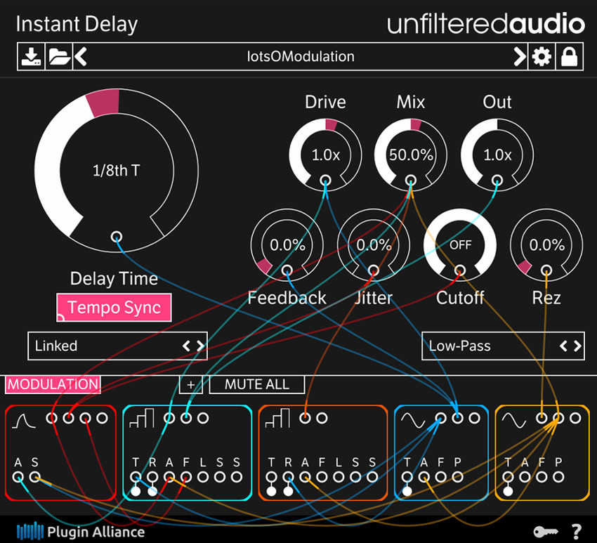 unfiltred-audio-instant-delay