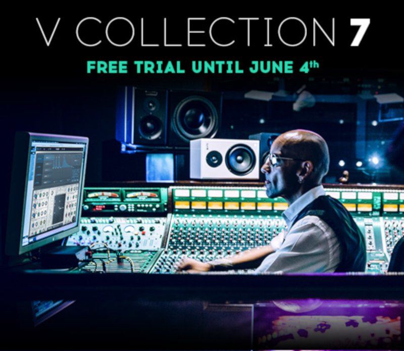 Arturia offer free trial of V Collection 7 – www digital